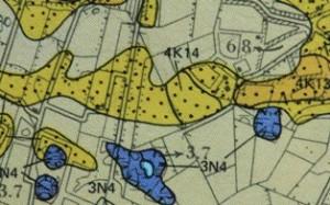 2014-03 2  Uitsnede van afbeelding 1 (bron Geomorfoligische kaart)