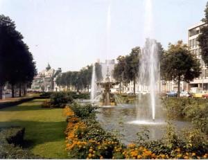 De fonteinen aan de Arnhemse singels