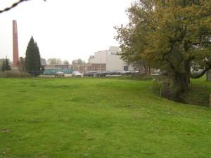Papierfabriek Schut BV met rechts de beek
