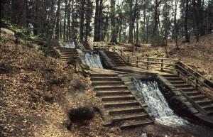 Grote waterval in de Vrijenbergerspreng