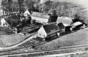 Historische opname van de Wenumse Watermolen