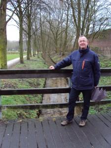 Henk Weltje bij de Winkewijerd