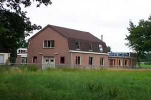 Wasserij op de plaats van de voormalige papiermolen in Norel