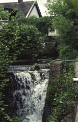 Waterval van de voormalige Bovenste Molen op Jeruzalem
