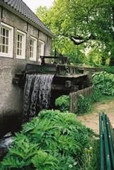De Sint-Agnietenmolen, onderdeel van het Watermuseum