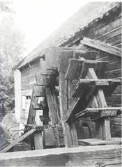 Het rad van de voormalige Griftse Molen te Vaassen