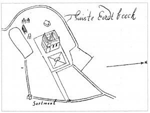 Molen 67c tekening vijver