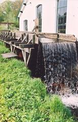 Goot en waterval van de Middelste Molen