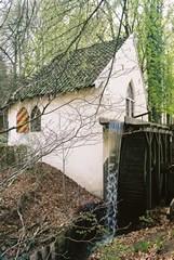 Korenmolen nabij de herberg Molecaten