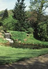 Waterval van de voormalige Molen voor het Kasteel