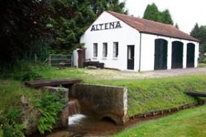 De schuur van wasserij 'Altena'