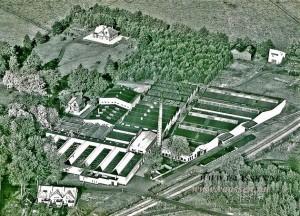 Nieuwe Molen later Utermohlen Wattenfabriek vlak na de oorlog