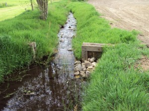 Locatie voormalig waterrad (foto Henri Slijkhuis)