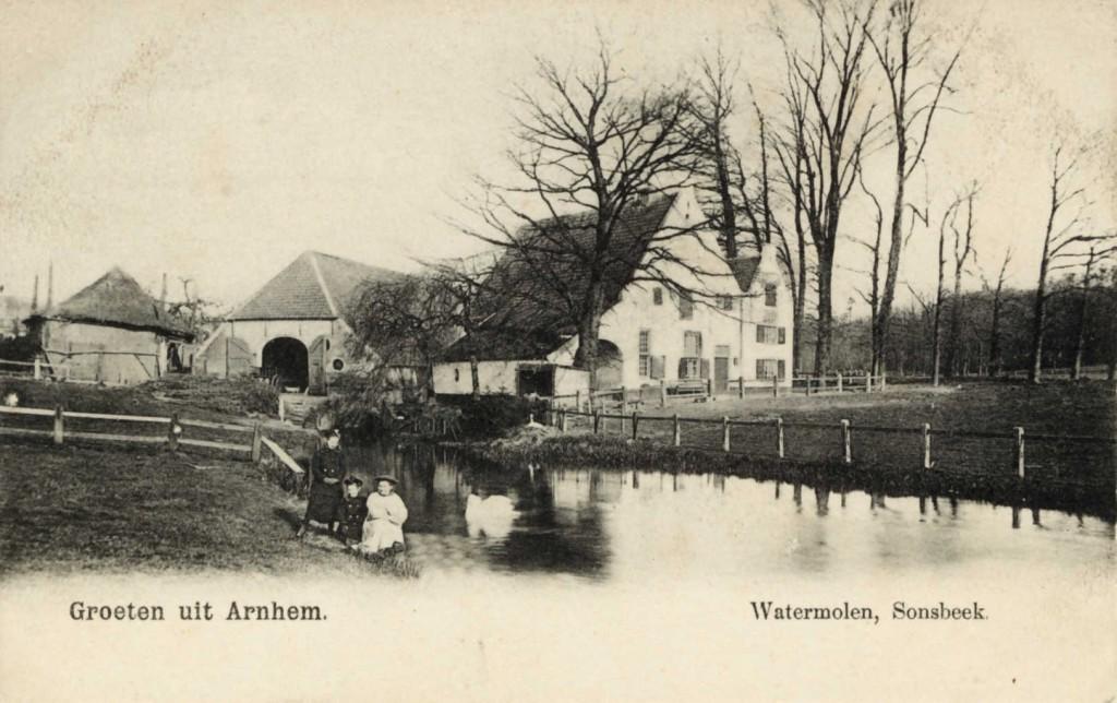 Watermolen Sonsbeek Arnhem ca. 1900