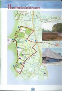 kaart Horsthoekerbekenroute