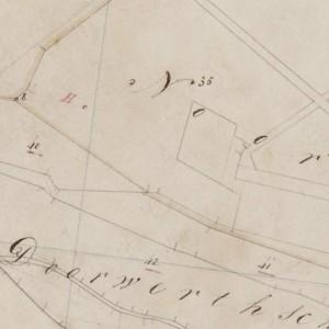 Historische kadastrale minuutplan Renkum Heelsum. 1833.  Bron: watwaswaar.nl