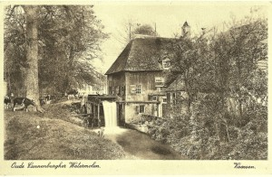 Oude Cannenburgher Watermolen.